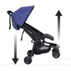 With Nano we can easily pop over curbs - Lightweight Stroller for Newborn