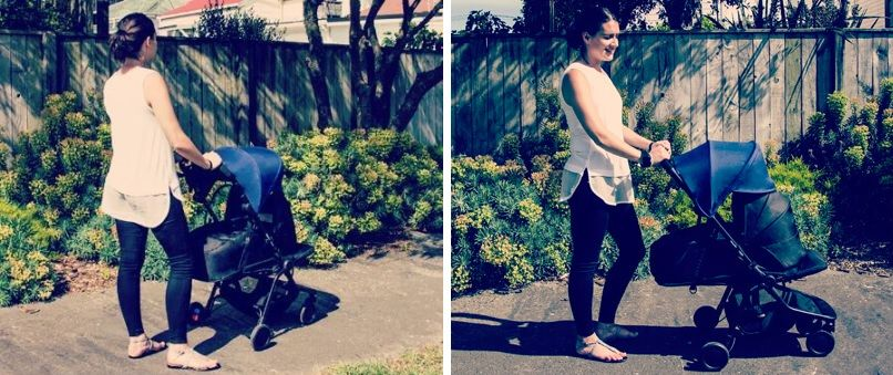 Mountain Buggy Nano Stroller with carrycot