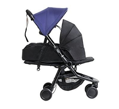 Mountain Buggy Nano with Cocoon Carrycot for Newborns