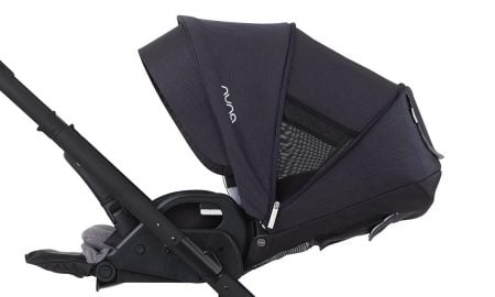 Nuna MIXX2 has oversized extendable canopy that provides nice ventilation