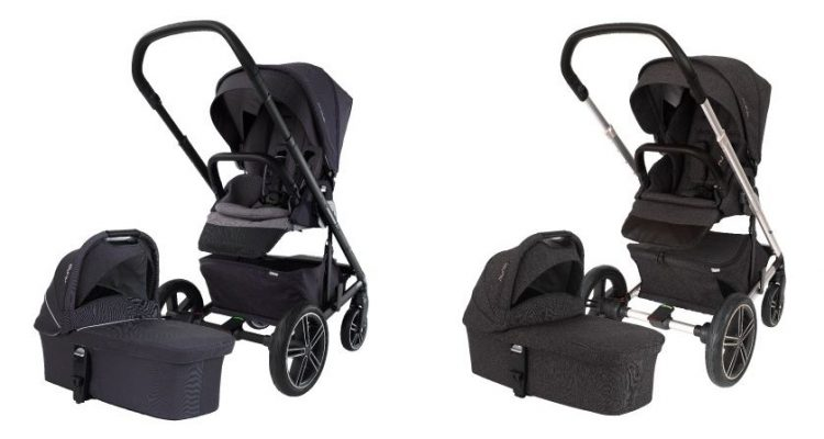 Nuna MIXX2 Jett and Suited color version can be also bought as set with bassinet included