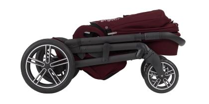 Folded Nuna MIXX2 Stroller