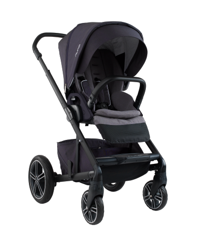 Nuna Mixx2 features 5-position reclining seat and adjustable leg rest