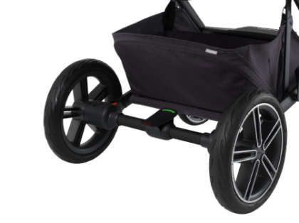 Nuna MIXX features single action brake