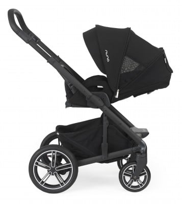 Nuna Mixx2 features flat-recline seat which is suitable from birth