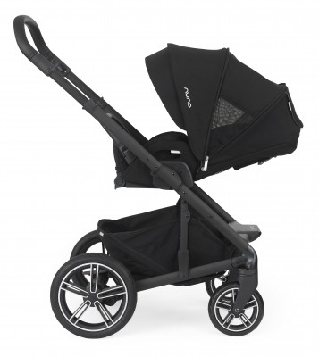 Nuna Mixx2 features 5-position reclining seat which is suitable from birth