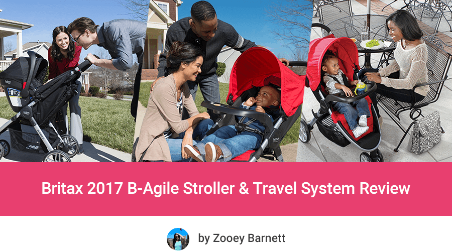Britax 2017 B Agile Stroller Travel System Review