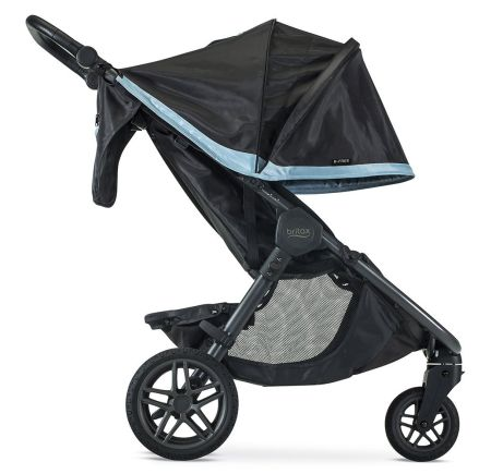 Britax B-Free 2018 Extendable Canopy  sc 1 st  New u0026 Best Strollers of 2018 & HOT NEW RELEASE! Britax B-Free Stroller u0026 Travel System Review