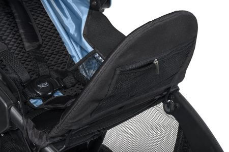 Britax B-Free Pocket under calf rest