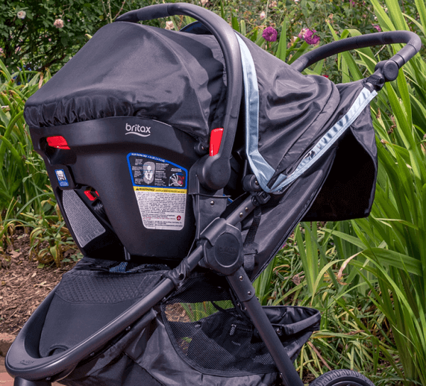 New On The Market Britax B Free Stroller Travel System Review