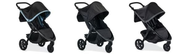 Britax B-Free Color versions