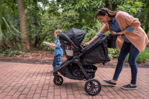 Britax B-Free Travel System costs a little over $600