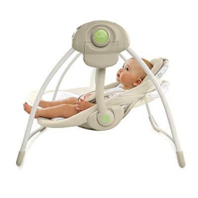 Comfort & Harmony Cozy Kingdom Portable Swing - TOP BABY SWINGS