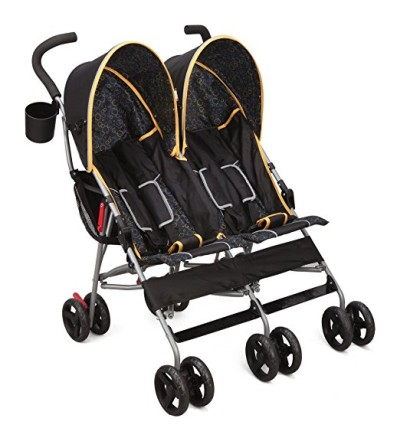 Delta Children LX Side-By-Side Stroller - best double lightweight stroller