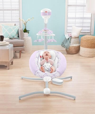 Fisher-Price Deluxe Cradle 'n Swing - best swings 2018