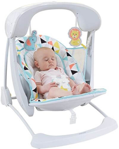 Fisher-Price Deluxe Take Along Swing and Seat - best swing 2018