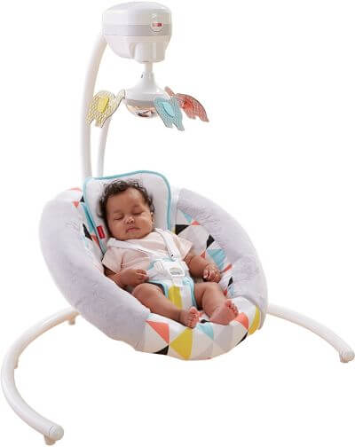 Fisher-Price Revolve Swing - best rated baby swing