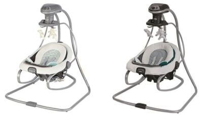 Graco Duetsoothe Swing & Rocker - best rated baby swing