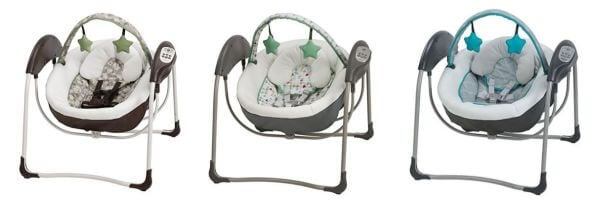 Graco Glider Lite LX Gliding Baby Swing - TOP Baby Swings