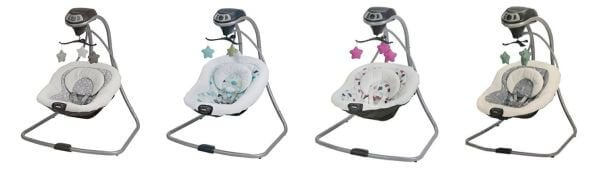 Graco Simple Sway Baby Swing - top baby swings