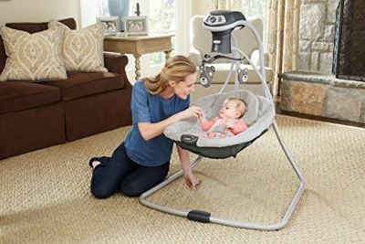 Graco Simple Sway LX with Multi-Direction Baby Swing - Best rated baby swing