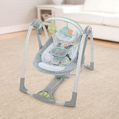 Ingenuity Swing 'n Go Portable Baby Swing - best infant swing 2018
