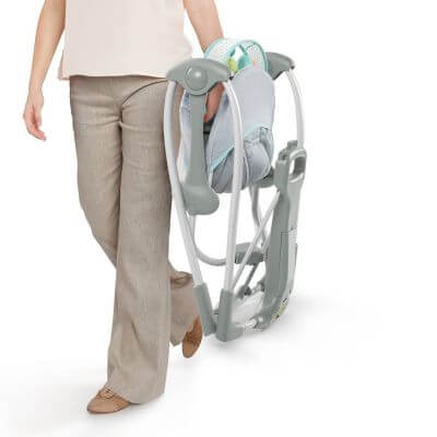 Ingenuity Swing 'n Go Portable Baby Swing