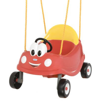 Little Tikes Cozy Coupe First Swing - best indoor and outdoor baby swing