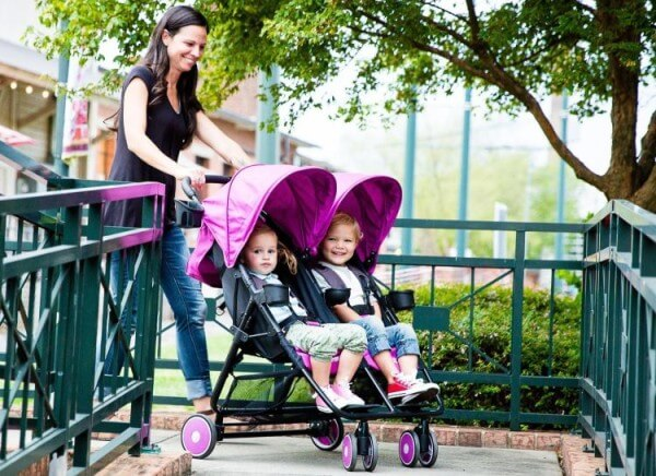 ZOE XL2 BEST Double Stroller for big kids