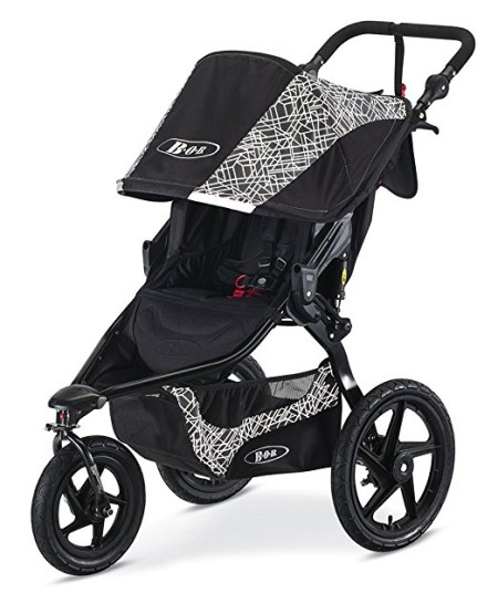 BOB Revolution Flex Lunar Jogging Stroller - one of the top strollers for running