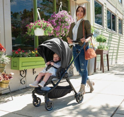 Baby Jogger City Tour LUX with toddler seat