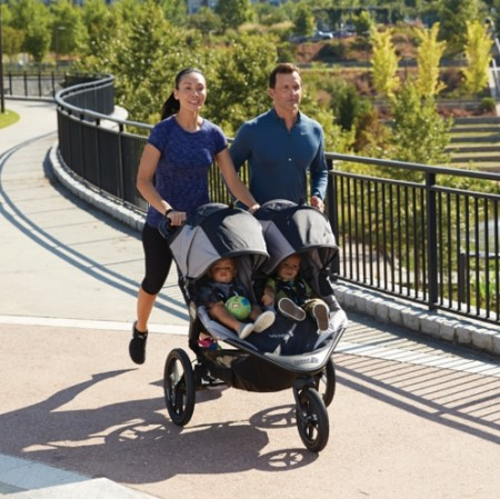 Baby Jogger Summit X3 Double Jogger Stroller
