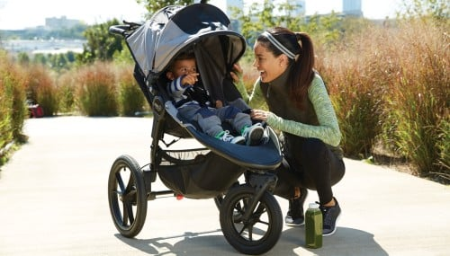 Baby Jogger Summit X3 Single - Jogging with a baby