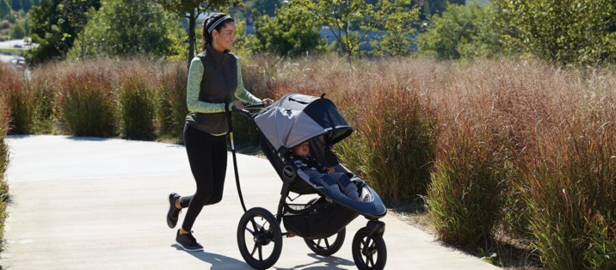 Baby Jogger Summit X3 Jogging Stroller is perfect choice for beginners