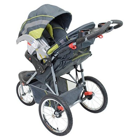 Baby Trend Expedition Jogger Stroller also works as a travel system