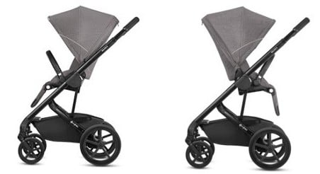 CYBEX Balios S features reversible seat