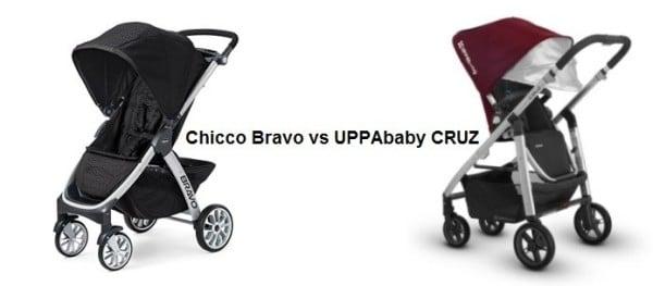 Chicco Bravo Stroller vs UPPAbaby CRUZ