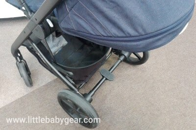 Cybex Balios S - Parking brake and easy to access basket
