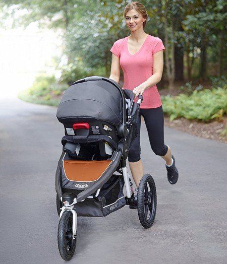 Graco Relay can be also used as a travel system
