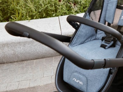 Nuna Demi Grow 2018 - Leatherette handlebar and bumper bar