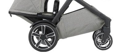 Nuna Demi Grow 2018 - Wheels with fenders
