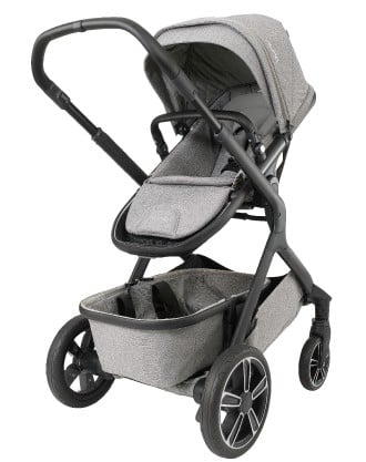 Nuna Demi Grow 2018 with toddler seat Frost