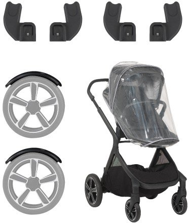 Nuna Demi Grow - included accessories