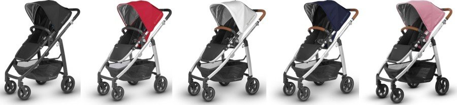 UPPAbaby CRUZ 2018 colors