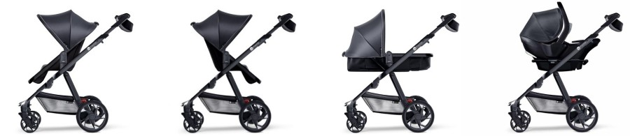 4moms Moxi Stroller- Seating options
