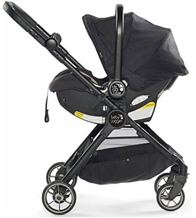 Baby Jogger City Tour LUX with infant car seat