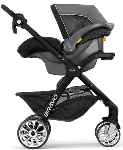 Chicco Bravo LE with infant car seat - One of the top convertible strollers of 2019