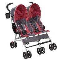 Delta Children LX Side-By-Side Stroller - best double lightweight stroller types of strollers