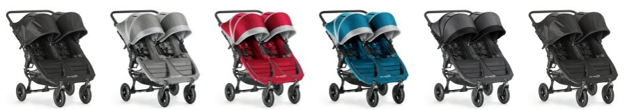 all color versions of Baby Jogger City Mini GT Double Stroller