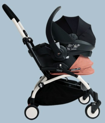 BABYZEN YOYO+ as travel system with infant car seat
